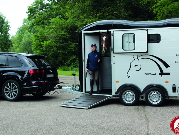 TOURING COUNTRY - HIPPODROME - PROFIL - PONT PORTE AVANT OUVERT - PAUL + CHEVAL