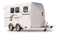 three horse trailer